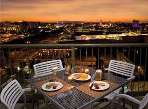 Your WorldMark Anaheim Balcony