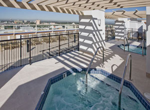 The WorldMark Anaheim Jacuzzi
