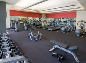 The WorldMark Anaheim gym