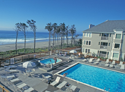 Beautiful beachfront resort at Gleneden Oregon