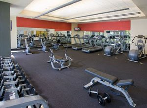 The WorldMark Anaheim gym