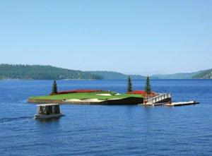 The Worldmark Arrow Point Floating Green