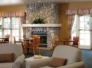 The WorldMark Dolphin's Cove Lounge