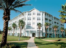 Exterior of the WorldMark Orlando resort